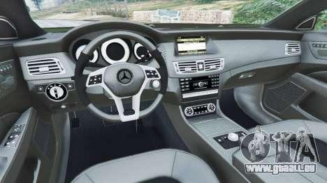 GTA 5 Mercedes-Benz CLS 63 AMG v1.0 droite vue latérale