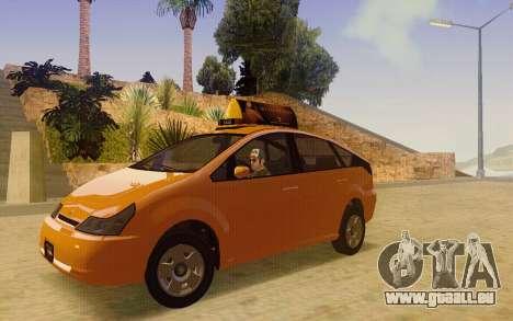 Karin Dilettante Taxi für GTA San Andreas