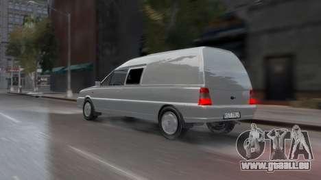 Daewoo-FSO Polonez Bella Gepanzerte 2000 für GTA 4 Unteransicht