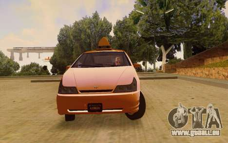Karin Dilettante Taxi für GTA San Andreas rechten Ansicht
