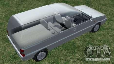 Daewoo-FSO Polonez Bella Gepanzerte 2000 für GTA 4 Räder
