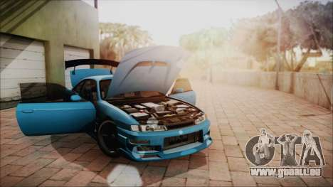Nissan Silvia S14 Chargespeed Kantai Collection für GTA San Andreas Innenansicht