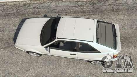 GTA 5 Volkswagen Corrado VR6 Rückansicht