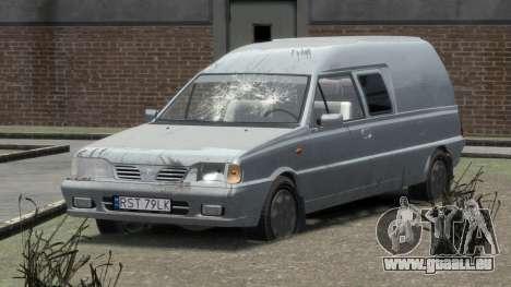 Daewoo-FSO Polonez Bella Gepanzerte 2000 für GTA 4 Innen