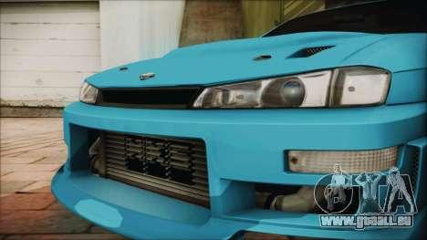 Nissan Silvia S14 Chargespeed Kantai Collection pour GTA San Andreas vue de droite