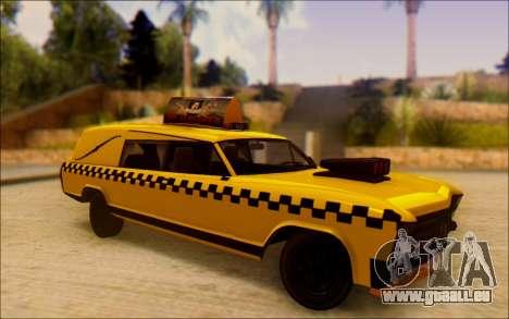 Albany Lurcher Taxi pour GTA San Andreas