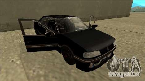 Peugeot 405 Drift für GTA San Andreas Seitenansicht