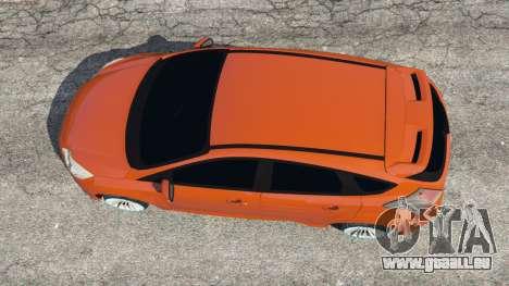Ford Focus ST (C346) 2013 pour GTA 5