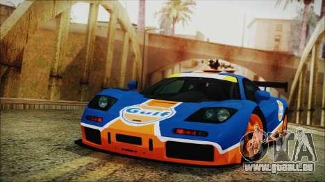 McLaren F1 GTR 1996 Gulf pour GTA San Andreas