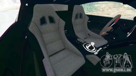 GTA 5 Audi R8 [LibertyWalk] droite vue latérale
