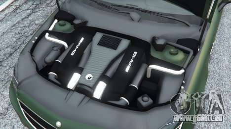 Mercedes-Benz CLS 63 AMG v1.0 pour GTA 5