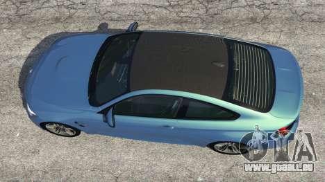 GTA 5 BMW M4 2015 vue arrière