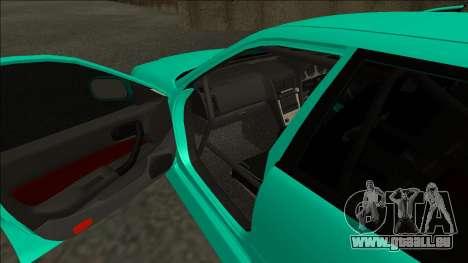 Nissan Skyline ER34 Drift pour GTA San Andreas vue intérieure