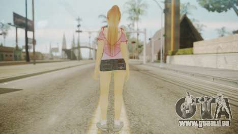 Kasumi DoA pour GTA San Andreas troisième écran
