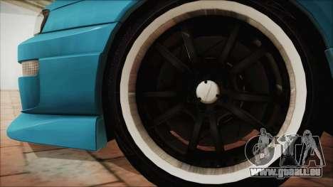 Nissan Silvia S14 Chargespeed Kantai Collection für GTA San Andreas zurück linke Ansicht