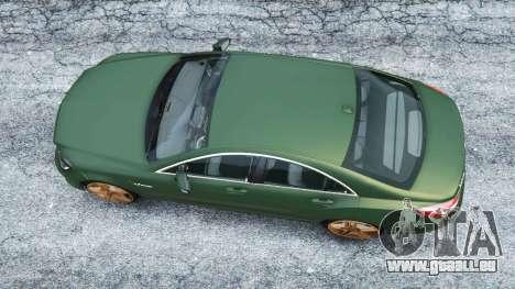 GTA 5 Mercedes-Benz CLS 63 AMG v1.0 vue arrière