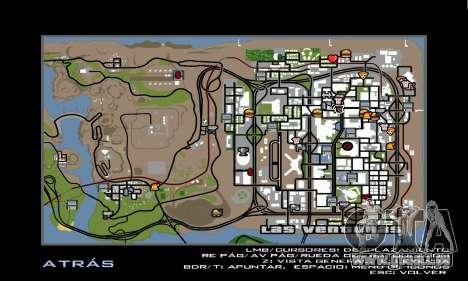 HD Radar Icons pour GTA San Andreas quatrième écran