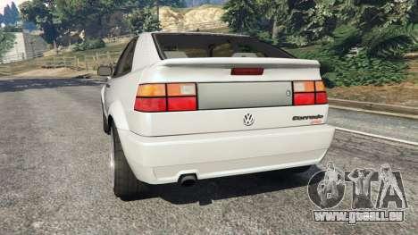 GTA 5 Volkswagen Corrado VR6 hinten links Seitenansicht