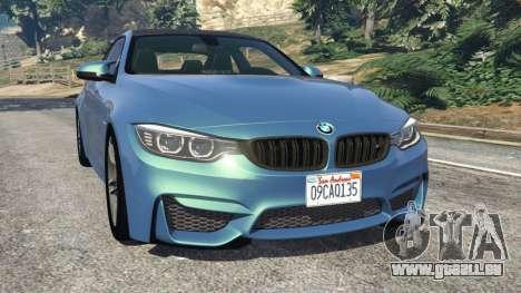 BMW M4 2015 pour GTA 5
