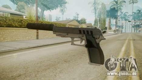 GTA 5 Silenced Pistol für GTA San Andreas zweiten Screenshot