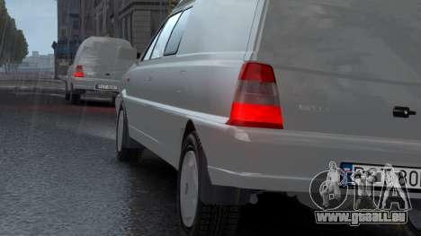 Daewoo-FSO Polonez Bella Gepanzerte 2000 für GTA 4-Motor