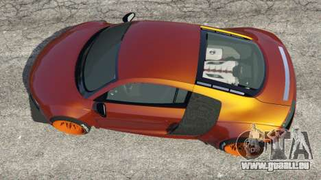 GTA 5 Audi R8 [LibertyWalk] vue arrière
