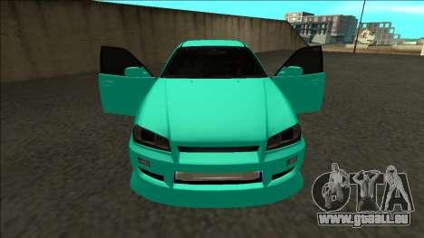 Nissan Skyline ER34 Drift für GTA San Andreas obere Ansicht
