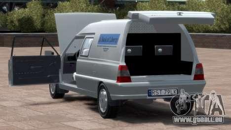 Daewoo-FSO Polonez Bella Gepanzerte 2000 für GTA 4 obere Ansicht