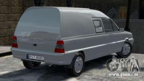 Daewoo-FSO Polonez Bella Gepanzerte 2000 für GTA 4 hinten links Ansicht