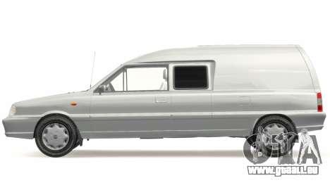 Daewoo-FSO Polonez Bella Gepanzerte 2000 für GTA 4 linke Ansicht