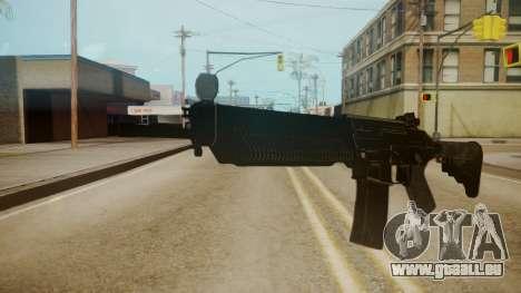 SIG-556 Patrol Rifle für GTA San Andreas zweiten Screenshot
