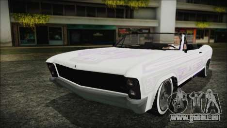 GTA 5 Albany Buccaneer Bobble Version für GTA San Andreas Innenansicht