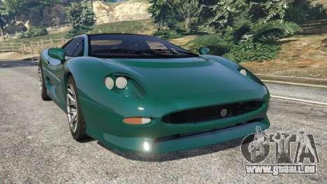 Jaguar XJ220 v0.8 pour GTA 5