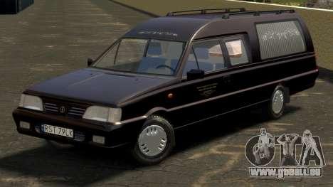 Daewoo-FSO Polonez Bella DC Corbillard 1998 pour GTA 4