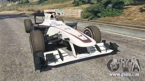 Sauber C29 [Pedro de La Rosa] für GTA 5