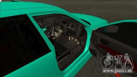 Nissan Skyline ER34 Drift pour GTA San Andreas vue arrière