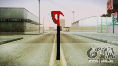 Plane Axe from The Forest für GTA San Andreas
