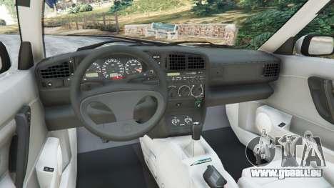 GTA 5 Volkswagen Corrado VR6 rechte Seitenansicht
