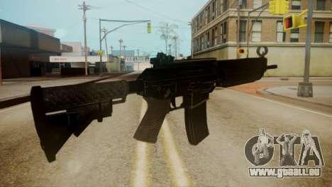 SIG-556 Patrol Rifle für GTA San Andreas dritten Screenshot