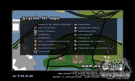 HD Radar Icons für GTA San Andreas
