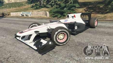 GTA 5 Sauber C29 [Pedro de La Rosa] rechte Seitenansicht