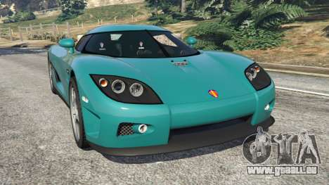 Koenigsegg CCX [Beta] pour GTA 5