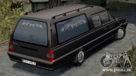 Daewoo-FSO Polonez Bella DC Corbillard 1998 pour GTA 4 est un droit
