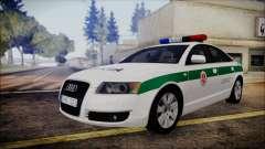 Audi A6 C6 Lithuanian Police