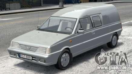 Daewoo-FSO Polonez Bella Blindés 2000 pour GTA 4