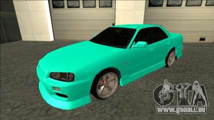 Nissan Skyline ER34 Drift für GTA San Andreas