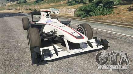Sauber C29 [Pedro martínez de La Rosa] pour GTA 5