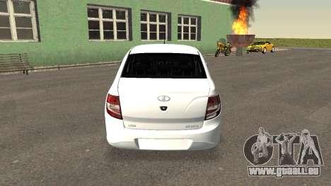 Lada Granlina pour GTA San Andreas sur la vue arrière gauche