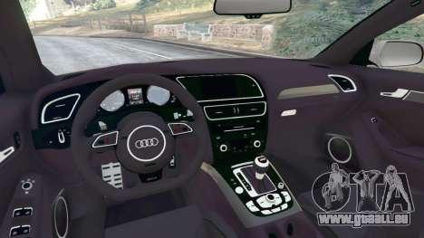 GTA 5 Audi RS4 Avant [LibertyWalk] hinten rechts
