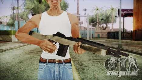 M308 PayDay 2 für GTA San Andreas dritten Screenshot